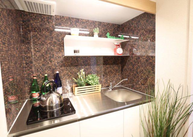 キッチン リフォーム ホームステージング
