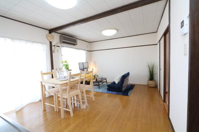 狭山住宅 リビング